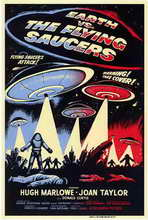 Earth vs. the Flying Saucers - 11 x 17 Movie Poster - Style A