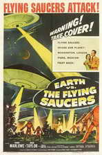 Earth vs. the Flying Saucers - 11 x 17 Movie Poster - Style B