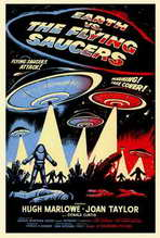 Earth vs. the Flying Saucers - 27 x 40 Movie Poster - Style A