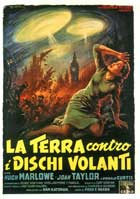 Earth vs. the Flying Saucers - 11 x 17 Movie Poster - Italian Style A