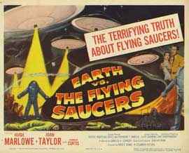 Earth vs. the Flying Saucers - 11 x 14 Movie Poster - Style A