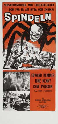 Earth vs. the Spider - 11 x 17 Movie Poster - Italian Style A