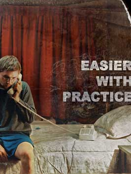 Easier with Practice - 11 x 17 Movie Poster - Style A