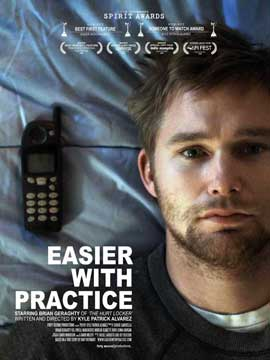 Easier with Practice - 11 x 17 Movie Poster - Style B