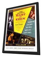 East of Eden - 27 x 40 Movie Poster - Style A - in Deluxe Wood Frame