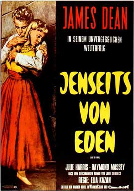 East of Eden - 11 x 17 Movie Poster - German Style A