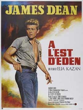 East of Eden - 11 x 17 Movie Poster - French Style A