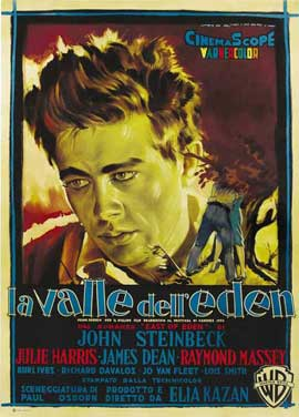 East of Eden - 27 x 40 Movie Poster - Italian Style A