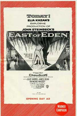 East of Eden - 27 x 40 Movie Poster - Style B
