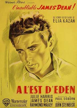 East of Eden - 11 x 17 Movie Poster - French Style B