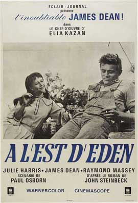 East of Eden - 11 x 17 Movie Poster - French Style C
