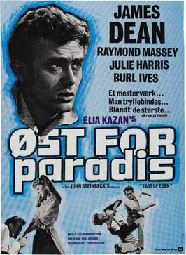 East of Eden - 11 x 17 Movie Poster - Danish Style A