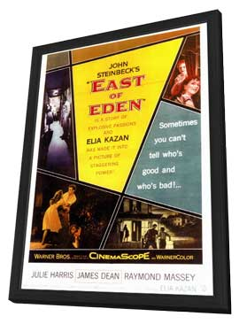 East of Eden - 11 x 17 Movie Poster - Style A - in Deluxe Wood Frame