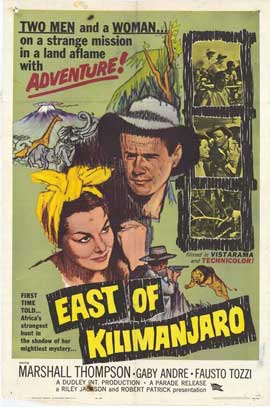 East of Kilimanjaro - 11 x 17 Movie Poster - Style A