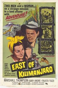 East of Kilimanjaro - 27 x 40 Movie Poster - Style A