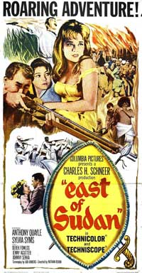 East of Sudan - 11 x 17 Movie Poster - Style B