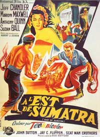 East of Sumatra - 27 x 40 Movie Poster - French Style A