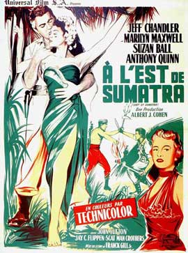 East of Sumatra - 11 x 17 Movie Poster - French Style B