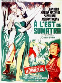 East of Sumatra - 27 x 40 Movie Poster - French Style B
