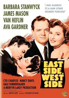 East Side, West Side - 11 x 17 Movie Poster - Style A