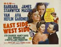 East Side, West Side - 22 x 28 Movie Poster - Half Sheet Style A