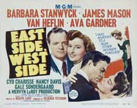 East Side, West Side - 11 x 14 Movie Poster - Style B
