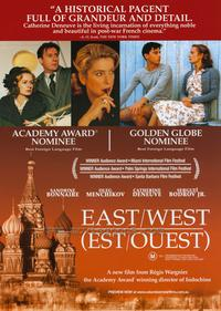 East-West - 11 x 17 Movie Poster - Style B