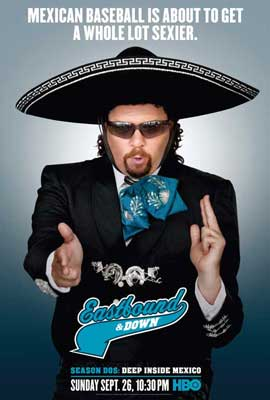 Eastbound & Down (TV) - 11 x 17 TV Poster - Style H