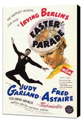 Easter Parade - 11 x 17 Movie Poster - Style A - Museum Wrapped Canvas
