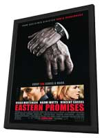 Eastern Promises - 11 x 17 Movie Poster - Style A - in Deluxe Wood Frame