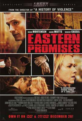 Eastern Promises - 11 x 17 Movie Poster - Style B