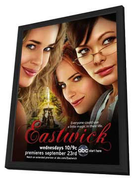 Eastwick (TV) - 11 x 17 TV Poster - Style A - in Deluxe Wood Frame