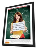 Easy A - 11 x 17 Movie Poster - Australian Style A - in Deluxe Wood Frame