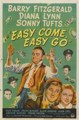 Easy Come Easy Go - 27 x 40 Movie Poster - Style A