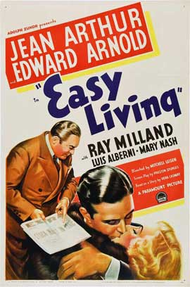 Easy Living - 11 x 17 Movie Poster - Style A