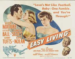 Easy Living - 11 x 14 Movie Poster - Style A