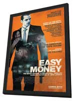Easy Money - 27 x 40 Movie Poster - Style A - in Deluxe Wood Frame