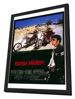 Easy Rider - 27 x 40 Movie Poster - Style A - in Deluxe Wood Frame