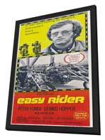 Easy Rider - 14 x 36 Movie Poster - Insert Style A - in Deluxe Wood Frame