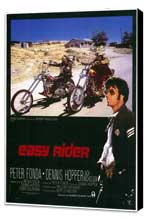 Easy Rider - 11 x 17 Movie Poster - Style A - Museum Wrapped Canvas