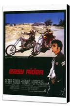 Easy Rider - 27 x 40 Movie Poster - Style A - Museum Wrapped Canvas