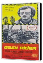 Easy Rider - 14 x 36 Movie Poster - Insert Style A - Museum Wrapped Canvas