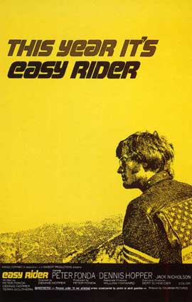 Easy Rider - 11 x 17 Movie Poster - Style D