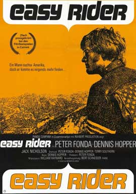 Easy Rider - 11 x 17 Movie Poster - German Style A