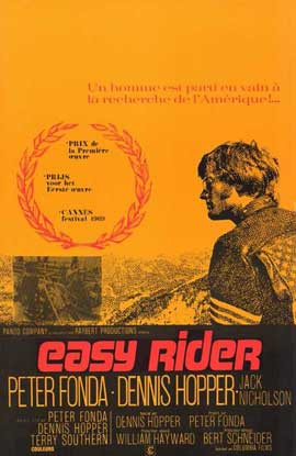 Easy Rider - 11 x 17 Movie Poster - French Style A