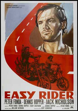 Easy Rider - 11 x 17 Movie Poster - Italian Style A