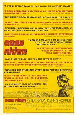 Easy Rider - 27 x 40 Movie Poster - Style C