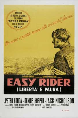 Easy Rider - 27 x 40 Movie Poster - French Style A