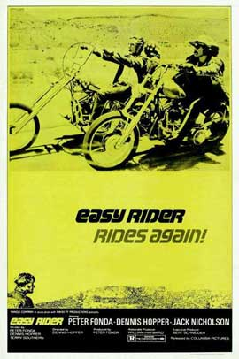 Easy Rider - 27 x 40 Movie Poster - Style E