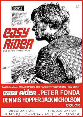 Easy Rider - 11 x 17 Movie Poster - Spanish Style B